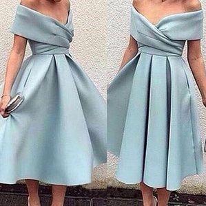 Dresses & Skirts - Romantic off the shoulder neckline